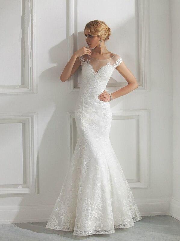 Свадебное платье напрокат Destiny Collection Платье свадебное 1521 - фото 1