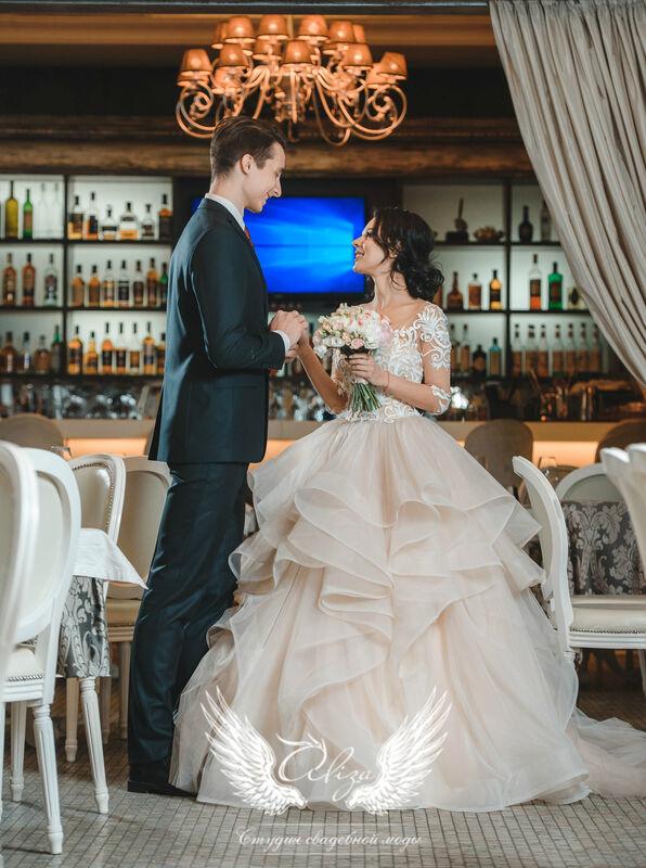 Свадебный салон ALIZA Cвадебное платье «Monica» Ameli Benya - фото 4
