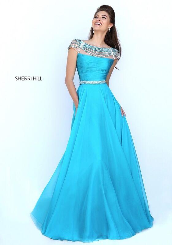 Вечернее платье Sherri Hill Платье вечернее 50414 - фото 3
