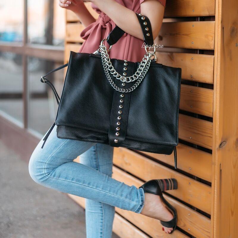 Магазин сумок Vezze Кожаная женская сумка C00530 - фото 1