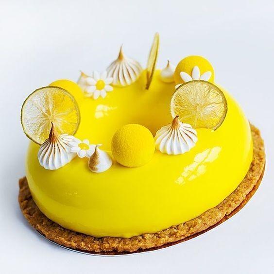 Торт DOLCE Муссовый торт «Кислота в Ромашковом Поле» - фото 1