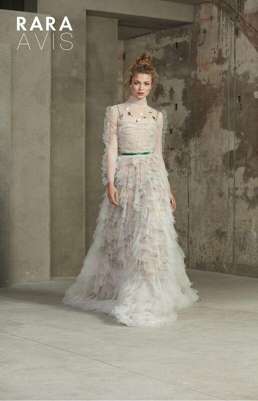 Свадебное платье напрокат Rara Avis Платье свадебное Floral Paradise Malina - фото 1