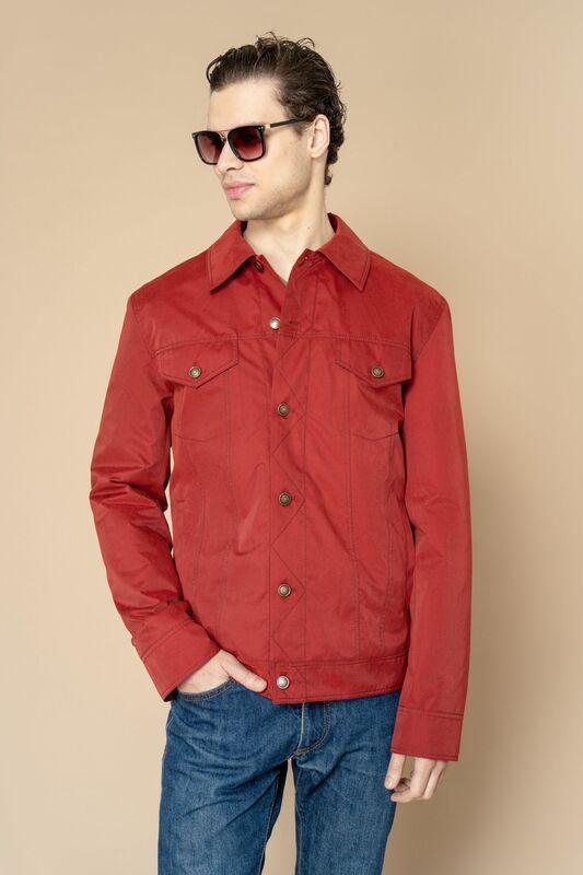 Верхняя одежда мужская Etelier Куртка мужская плащевая утепленная 4М-8530-1 - фото 3