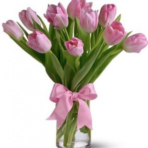 Магазин цветов Планета цветов Букет из тюльпанов №1 - фото 1
