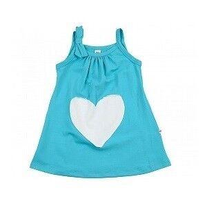 Платье детское Mini Maxi Сарафан для девочки бирюзовый UD0326 - фото 1