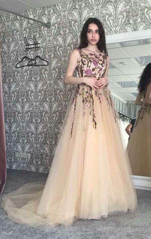Вечернее платье Vanilla room (Ванилла рум) Платье E-002 - фото 1