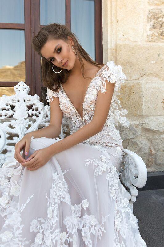 Свадебный салон Eva Lendel Свадебное платье Paiton - фото 2