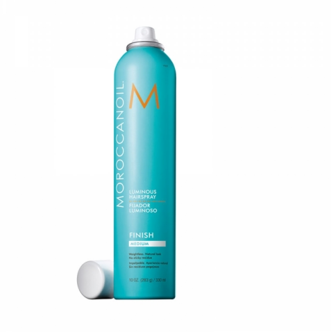 Уход за волосами Moroccanoil Сияющий лак для волос средней фиксации, 330 мл - фото 1