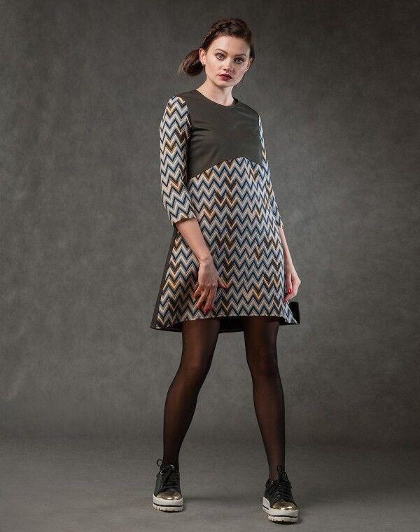 Платье женское MISUTERI Платье Barubu Black MSS0070 - фото 1