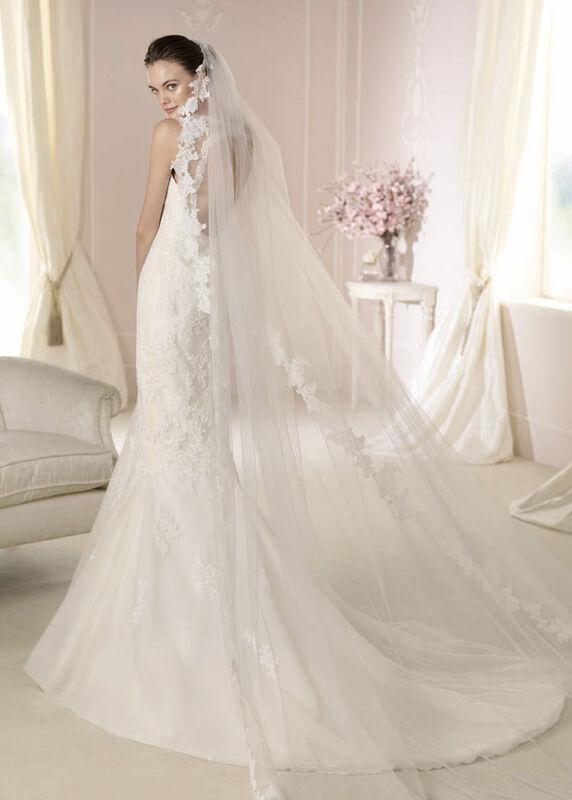 Свадебное платье напрокат White One (Pronovias) Платье свадебное «Damara» - фото 2