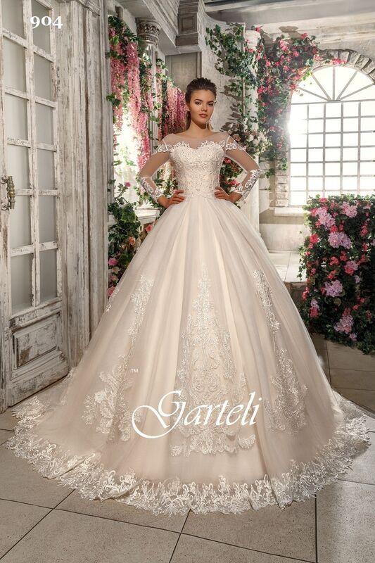 Свадебный салон Garteli Свадебное платье 904 (коллекция 2019) - фото 1