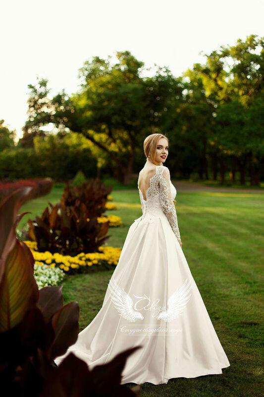 Свадебный салон ALIZA Платье свадебное «Грация» Soffito - фото 2