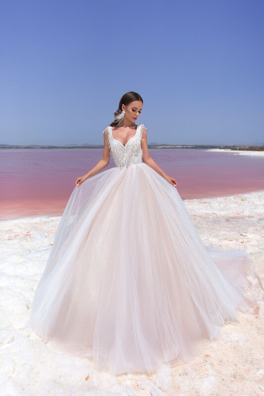 """Свадебное платье напрокат ALIZA Свадебное платье """"Malika"""" - фото 1"""