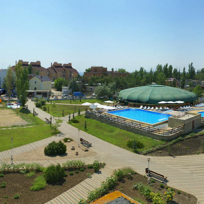 Туристическое агентство Яваш тур Автобусный пляжный тур в Украину, Коблево, пансионат «Надежда», 14 ночей - фото 1