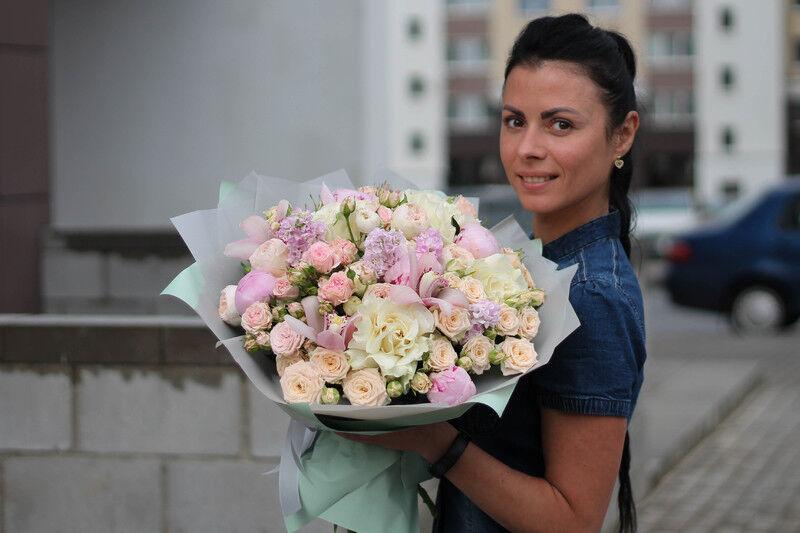 Магазин цветов Cvetok.by Букет «Счастье» - фото 2