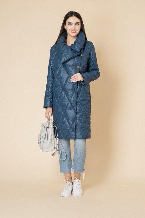 Верхняя одежда женская Elema Пальто женское плащевое утепленное 5-8402-1 - фото 1