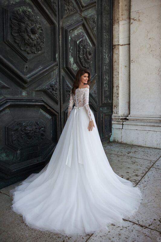 """Свадебное платье напрокат ALIZA свадебное платье  """"Orssy"""" - фото 3"""