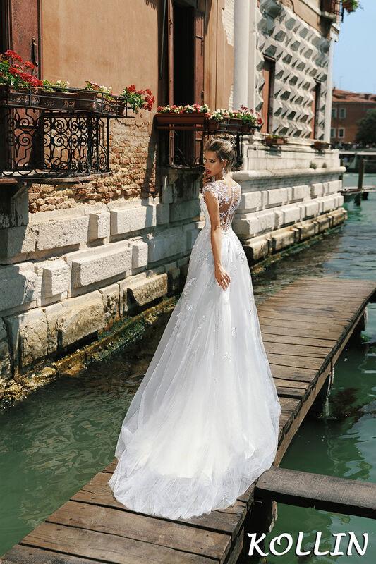 Свадебный салон Bonjour Galerie Свадебное платье Kollin из коллекции La Douceur - фото 2