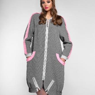 Платье женское Pintel™ Удлинённое платье-куртка  Limari - фото 1