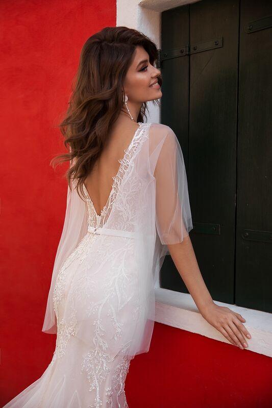 """Свадебное платье напрокат ALIZA свадебное платье """"Delfiny"""" - фото 4"""