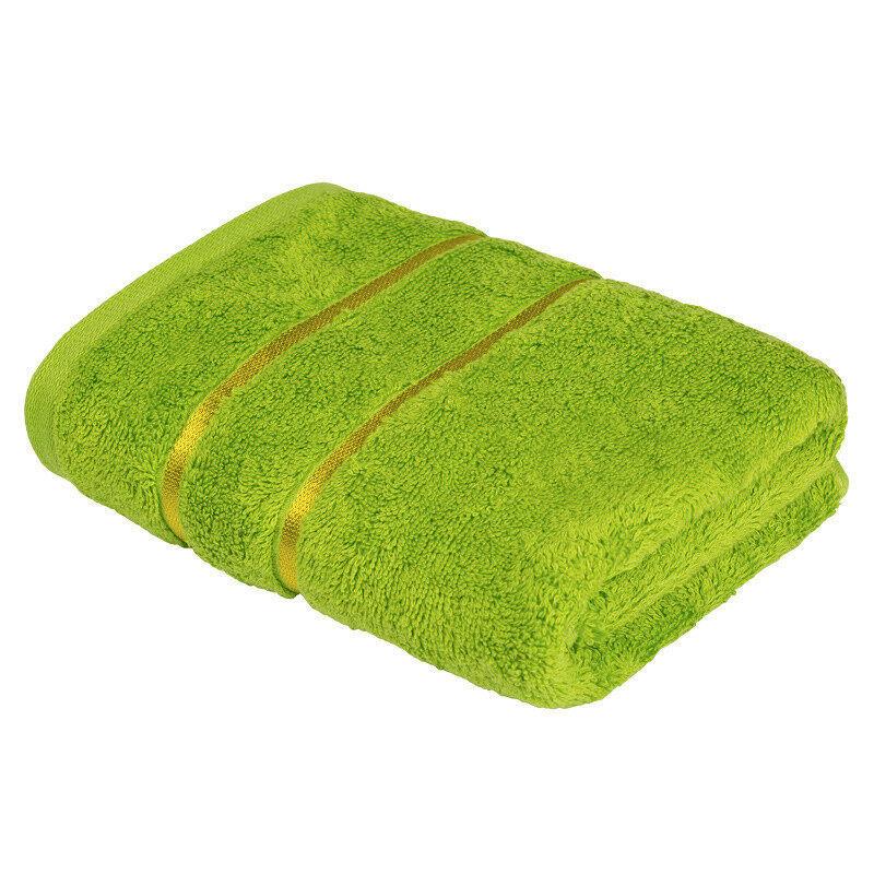 Подарок Ecotex Набор полотенец махровых «Египетский хлопок» салатовый, 2 шт - фото 1