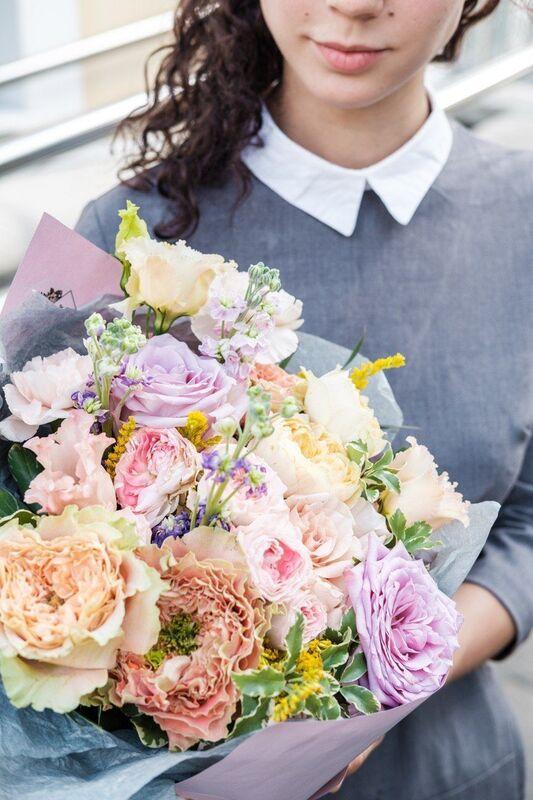 Магазин цветов Цветы на Киселева Букет «Летний привет» - фото 1