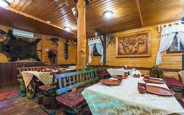 Ресторан и кафе на Новый год Очаг Зал банкетный - фото 1