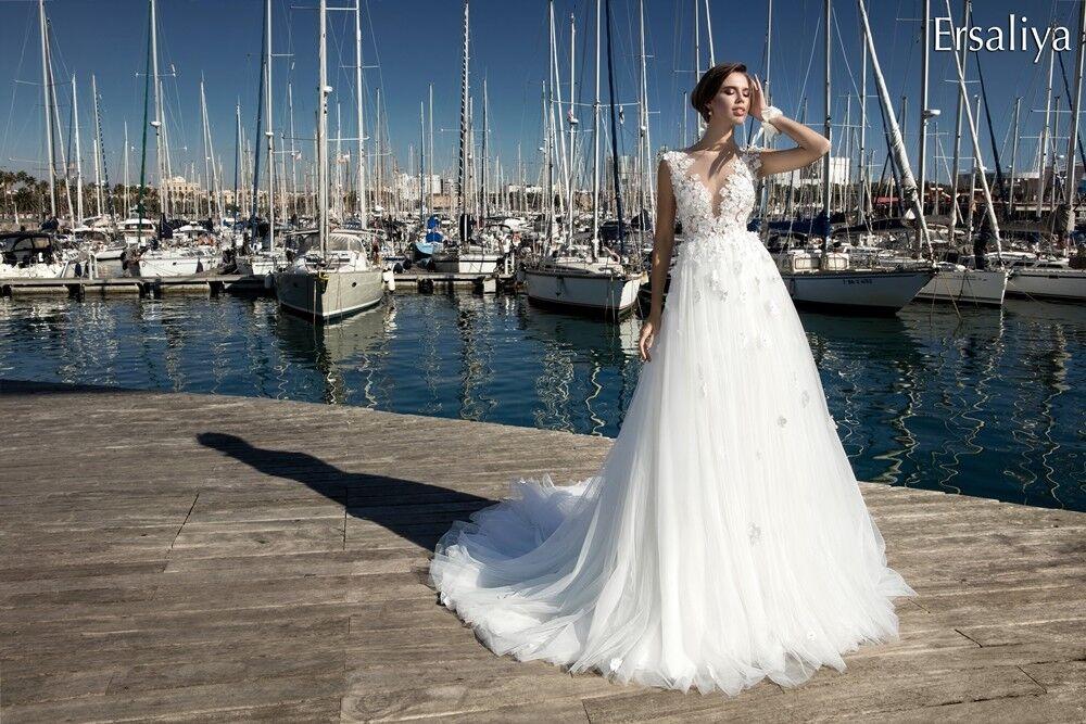 Свадебное платье напрокат Bonjour Платье свадебное «Ersaliya» из коллекции LA POESIE 2017 - фото 4