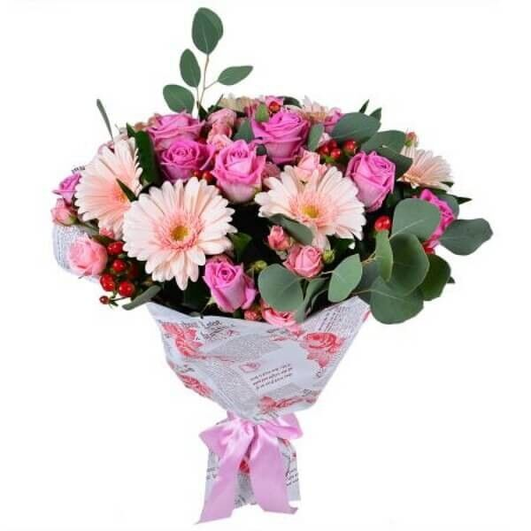 Магазин цветов Букетная Букет «Нежные чувства» - фото 1