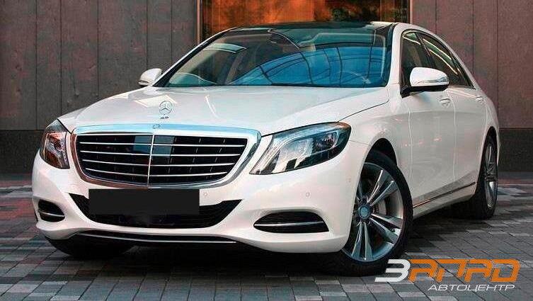 Аренда авто Mercedes-Benz S-класс W222 S500 Белый - фото 1
