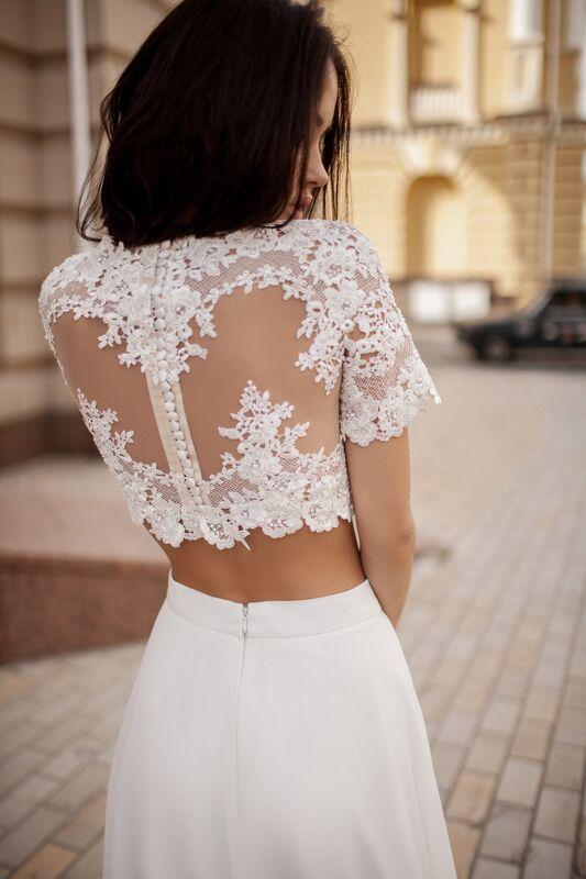 Свадебный салон Crystal Платье свадебное Karina - фото 2