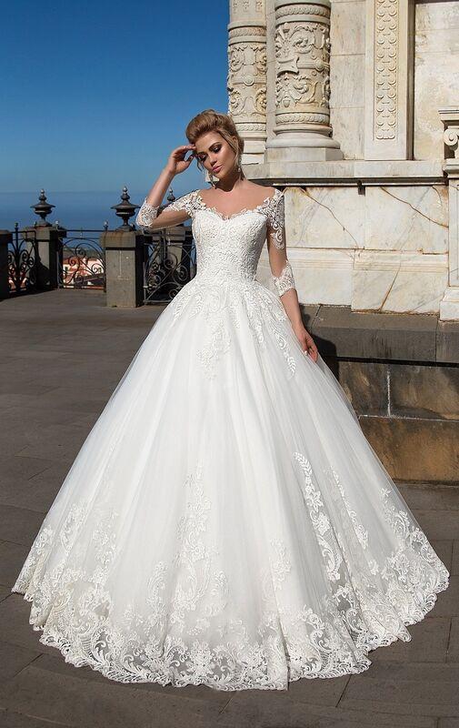 Свадебный салон NaviBlue Свадебное платье Lissa 17004 - фото 1