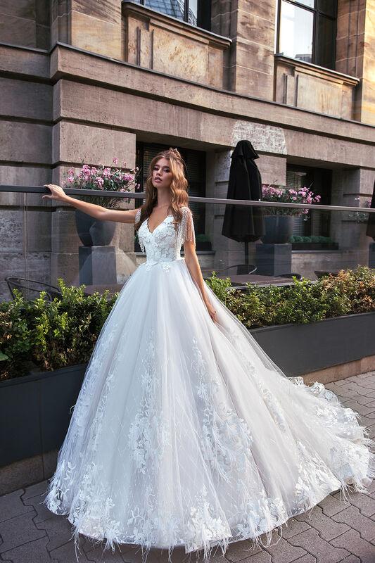 Свадебное платье напрокат Vanilla room Платье свадебное София - фото 2