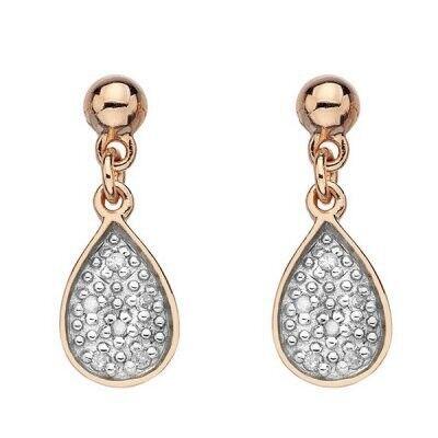 Ювелирный салон Hot Diamonds Серьги серебряные DE387 - фото 1