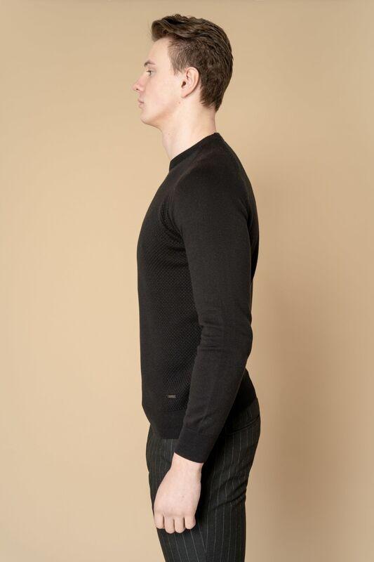 Кофта, рубашка, футболка мужская Etelier Джемпер мужской  tony montana T1031 - фото 2