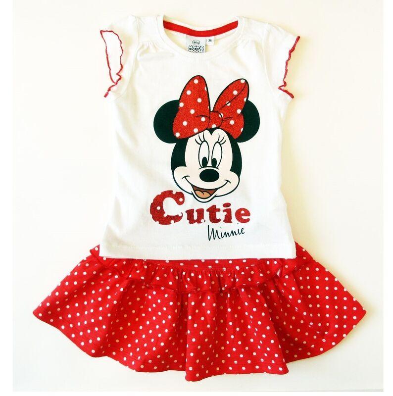 Платье детское Sun City Комплект для девочки Минни OE1616/2 - фото 1