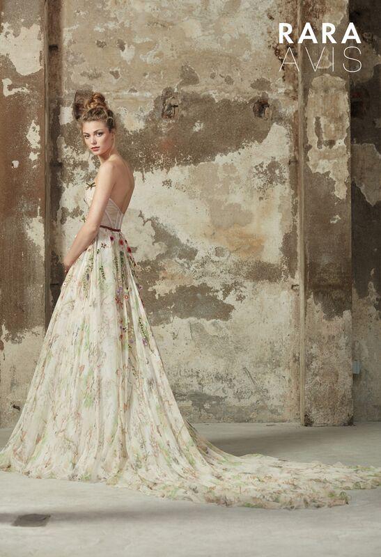 Свадебное платье напрокат Rara Avis Платье свадебное Floral Paradise  Lily - фото 2
