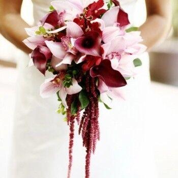 Магазин цветов Ветка сакуры Букет из орхидей для невесты № 48 - фото 1
