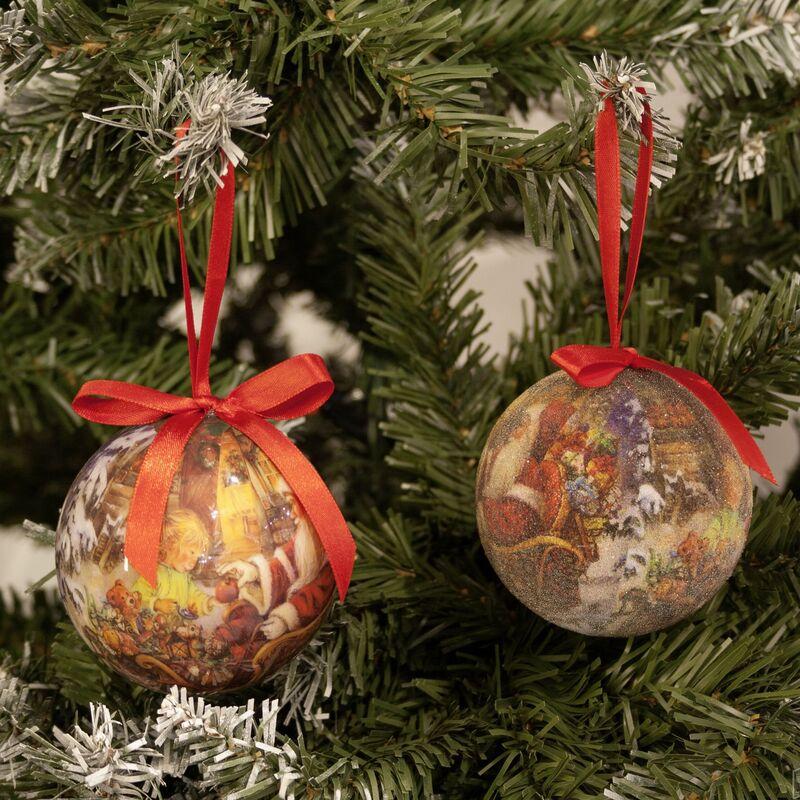 Елка и украшение Eurotrading Набор новогодних шаров 35102, 14 шт. - фото 2