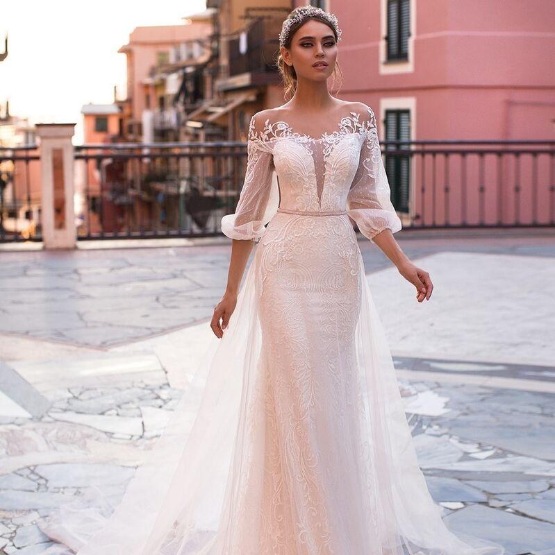 Свадебное платье напрокат Ange Etoiles Свадебное платье Ali Damore Katalina - фото 1