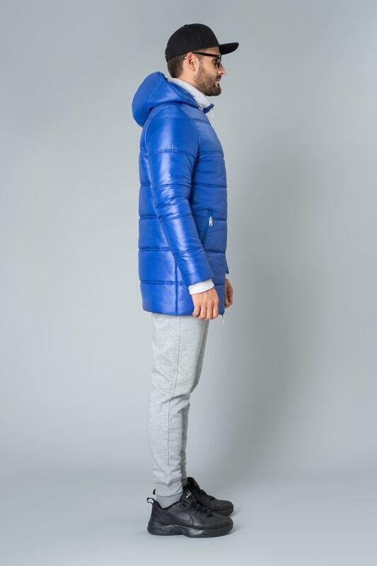 Верхняя одежда мужская Etelier Куртка мужская плащевая утепленная 4М-9469-1 - фото 3