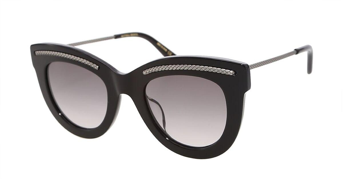 Очки Bottega Veneta Солнцезащитные очки BV0030S-001 - фото 1