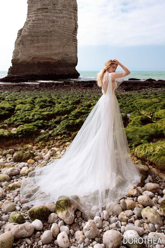 Свадебный салон Bonjour Galerie Платье свадебное DOROTHEYA из коллекции BON VOYAGE - фото 2