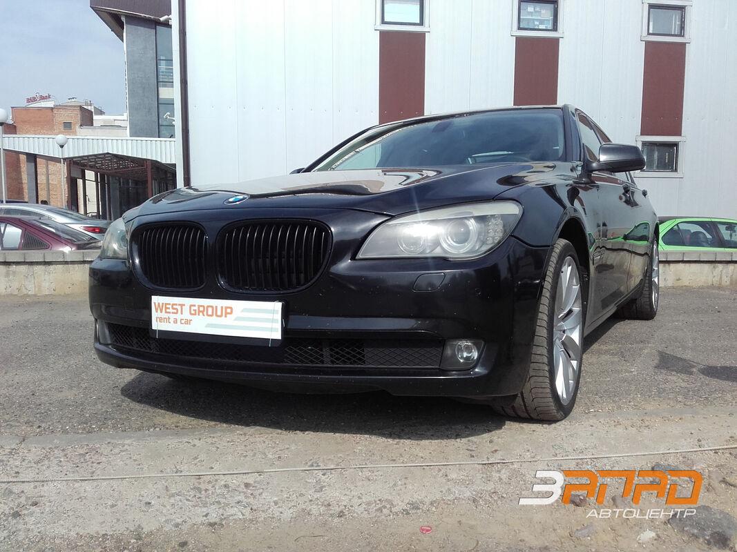 Аренда авто BMW F01/F02 2012 Черный - фото 1