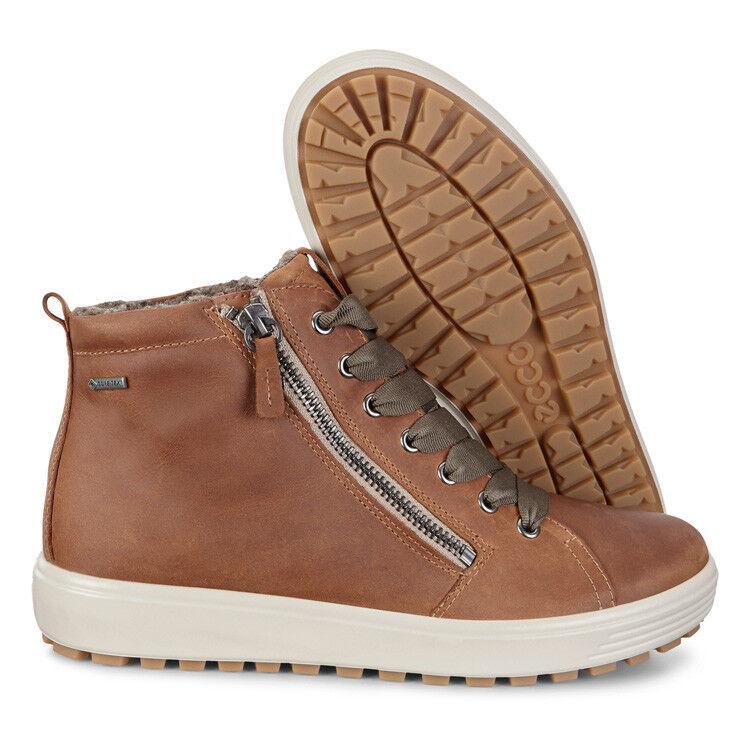 Обувь женская ECCO Кеды высокие SOFT 7 TRED 450163/02291 - фото 8