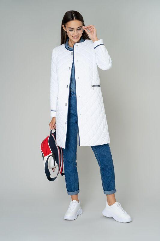 Верхняя одежда женская Elema Пальто женское плащевое утепленное 5-9685-1 - фото 1