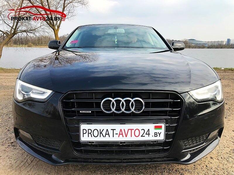 Прокат авто Audi A5 Sportback 2015 - фото 3