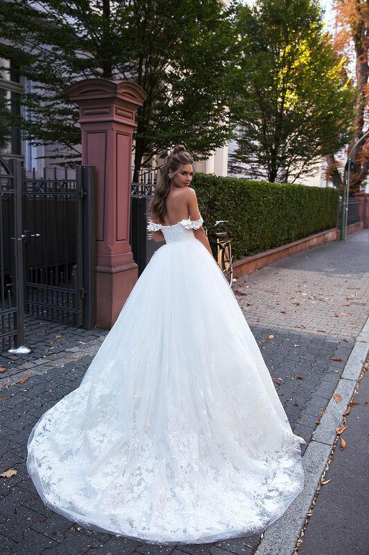 Свадебное платье напрокат Vanilla room Платье свадебное Виктория - фото 3