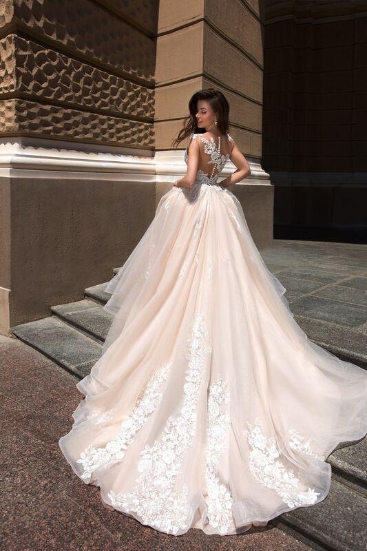 Свадебный салон Ida Torez Свадебное платье Cupraea Tigris - фото 3