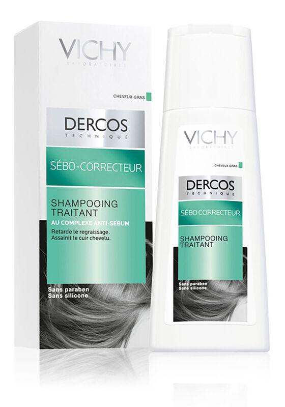 Уход за волосами VICHY Шампунь-уход Dercos Teсhnique регулирующий для жирных волос - фото 1